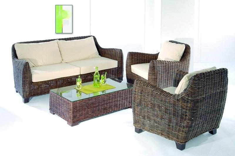 Meuble rotin du pacific vente de meuble en rotin en bambou en bananier au pays basque - Salon en rotin interieur ...