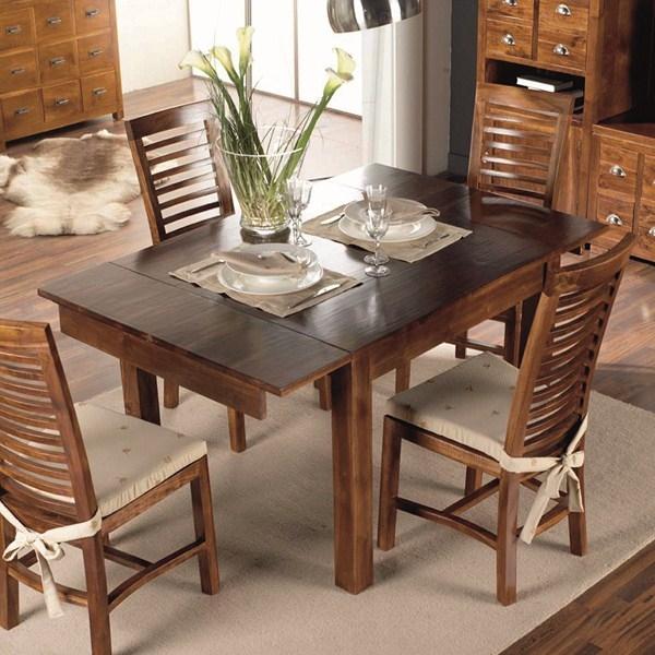 Meuble rotin du pacific vente de meuble en rotin en for Salle a manger complete avec table extensible