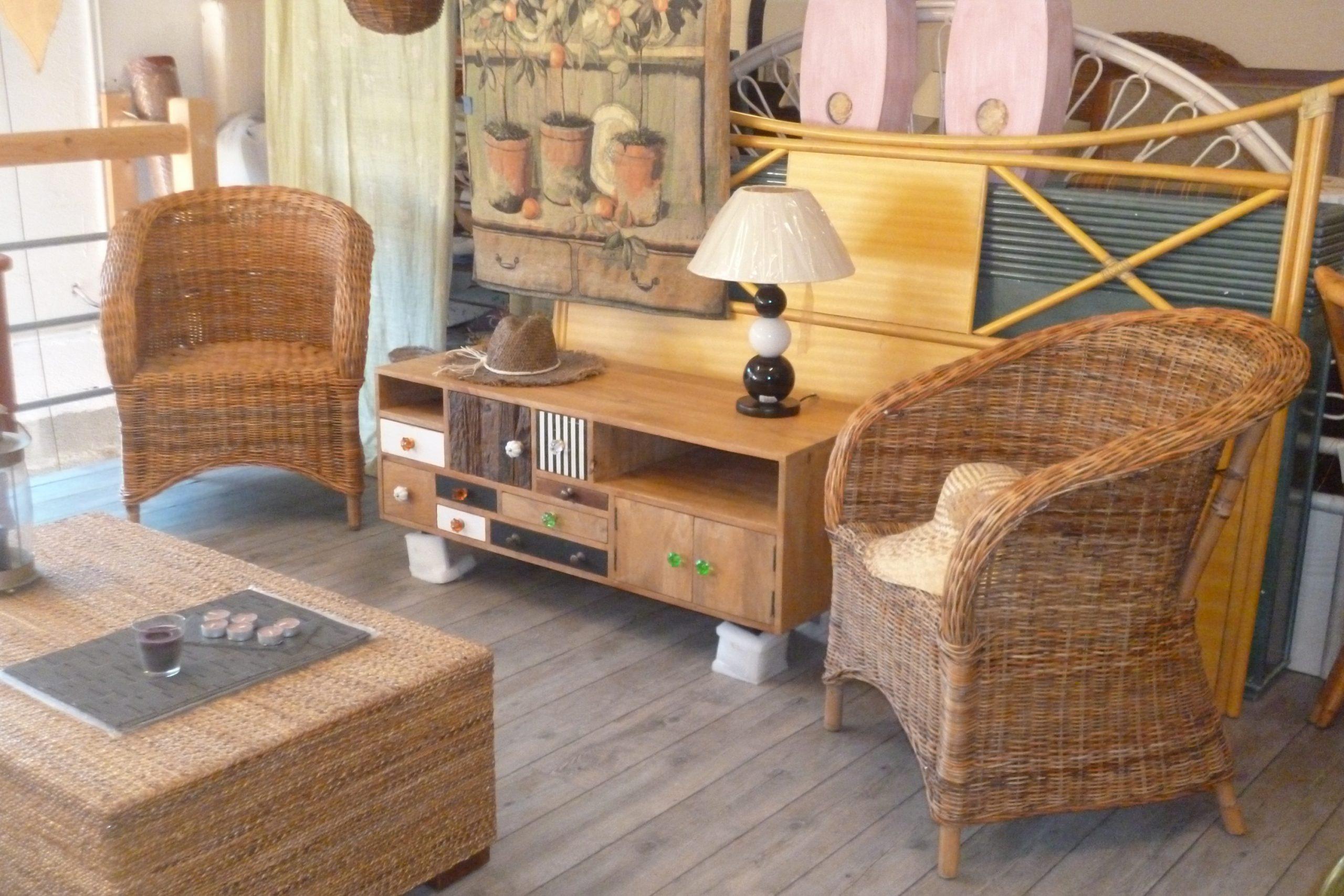 Magasin - Magasin de meuble en rotin ...